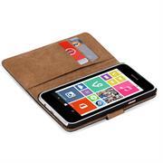Basic Bookcase Hülle für Nokia Lumia 530 Klapphülle Tasche mit Kartenfächer