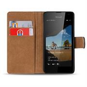 Basic Bookcase Hülle für Microsoft Lumia 550 Tasche mit Kartenfächern