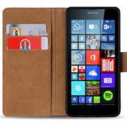 Basic Bookcase Hülle für Microsoft Lumia 640 XL klappbare Schutzhülle