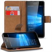 Basic Bookcase Hülle für Microsoft Lumia 950 XL klappbare Schutzhülle
