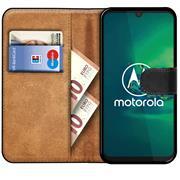 Basic Handyhülle für Motorola Defy 2021 Hülle Book Case klappbare Schutzhülle