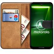 Basic Bookcase Hülle für Motorola / Lenovo Moto C Schutzhülle