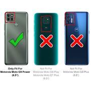 Basic Handyhülle für Motorola Moto G9 Power Hülle Book Case klappbare Schutzhülle
