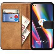 Basic Bookcase Hülle für Motorola Moto G 5G Plus Case klappbare Schutzhülle