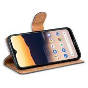 Basic Bookcase Hülle für Nokia 2.3 Case klappbare Schutzhülle