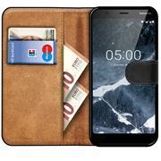 Basic Bookcase Hülle für Nokia 5.1 Case klappbare Schutzhülle