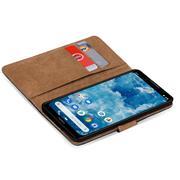 Basic Bookcase Hülle für Nokia 8.1 klappbare Schutzhülle