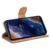 Basic Bookcase Hülle für Nokia 9 Pureview Case klappbare Schutzhülle
