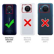 Basic Handyhülle für Nokia G20 Hülle Book Case klappbare Schutzhülle