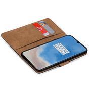 Basic Handyhülle für OnePlus 7T Hülle Book Case klappbare Schutzhülle