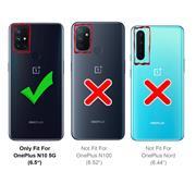 Basic Handyhülle für OnePlus N10 5G Hülle Book Case klappbare Schutzhülle