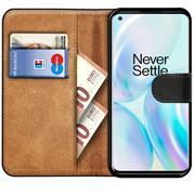 Basic Handyhülle für OnePlus Nord 2 5G Hülle Book Case klappbare Schutzhülle