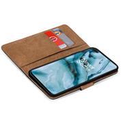 Basic Handyhülle für OnePlus Nord Hülle Book Case klappbare Schutzhülle