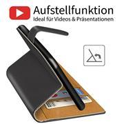 Basic Handyhülle für OPPO A54 5G / A74 5G Hülle Book Case klappbare Schutzhülle