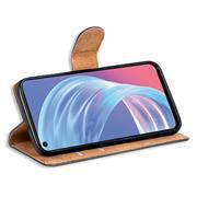 Basic Handyhülle für OPPO A73 5G Hülle Book Case klappbare Schutzhülle
