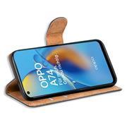 Basic Handyhülle für OPPO A74 4G Hülle Book Case klappbare Schutzhülle