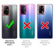 Basic Handyhülle für OPPO A94 5G Hülle Book Case klappbare Schutzhülle