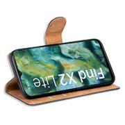 Basic Handyhülle für OPPO Find X2 Lite Hülle Book Case klappbare Schutzhülle