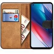 Basic Handyhülle für OPPO Find X3 Lite Hülle Book Case klappbare Schutzhülle