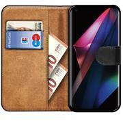 Basic Handyhülle für OPPO Find X3 Neo Hülle Book Case klappbare Schutzhülle