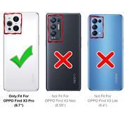 Basic Handyhülle für OPPO Find X3 Pro Hülle Book Case klappbare Schutzhülle