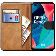 Basic Handyhülle für OPPO Reno 4 Hülle Book Case klappbare Schutzhülle
