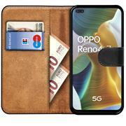 Basic Handyhülle für OPPO Reno 4 Z Hülle Book Case klappbare Schutzhülle