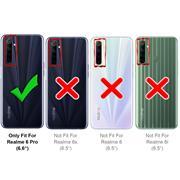 Basic Handyhülle für Realme 6 Pro Hülle Book Case klappbare Schutzhülle