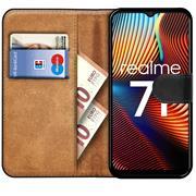 Basic Handyhülle für Realme 7i Hülle Book Case klappbare Schutzhülle