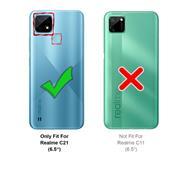 Basic Handyhülle für Realme C21 Hülle Book Case klappbare Schutzhülle