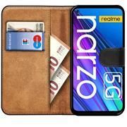 Basic Handyhülle für Realme Narzo 30 5G Hülle Book Case klappbare Schutzhülle