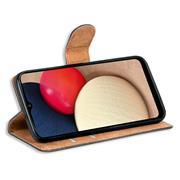 Basic Handyhülle für Samsung Galaxy A02s Hülle Book Case klappbare Schutzhülle