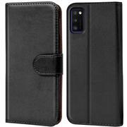 Basic Handyhülle für Samsung Galaxy A03s Hülle Book Case klappbare Schutzhülle