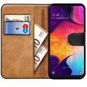 Basic Bookcase Hülle für Samsung Galaxy A20e Case klappbare Schutzhülle