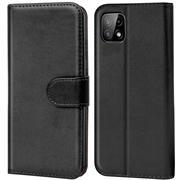 Basic Handyhülle für Samsung Galaxy A22 5G Hülle Book Case klappbare Schutzhülle