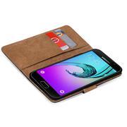 Basic Bookcase Hülle für Samsung Galaxy A3 2016 Case klappbare Schutzhülle