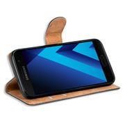 Basic Bookcase Hülle für Samsung Galaxy A3 2017 Case klappbare Schutzhülle