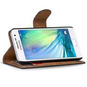 Basic Bookcase Hülle für Samsung Galaxy A3 Klapphülle Tasche mit Kartenfächer