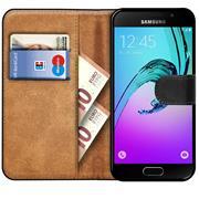 Basic Bookcase Hülle für Samsung Galaxy A5 2016 Edition Klapphülle Tasche mit Kartenfächer