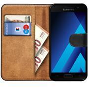 Basic Bookcase Hülle für Samsung Galaxy A5 2017 Case klappbare Schutzhülle