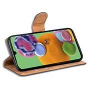 Basic Bookcase Hülle für Samsung Galaxy A90 5G Case klappbare Schutzhülle