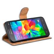 Basic Bookcase Hülle für Samsung Galaxy Grand Prime Schutzhülle