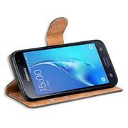Basic Bookcase Hülle für Samsung Galaxy J3 2016 Case klappbare Schutzhülle