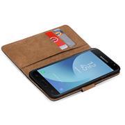 Basic Bookcase Hülle für Samsung Galaxy J3 2017 klappbare Schutzhülle