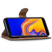 Basic Bookcase Hülle für Samsung Galaxy J4 Plus Case klappbare Schutzhülle