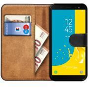 Basic Bookcase Hülle für Samsung Galaxy J6 2018 klappbare Schutzhülle