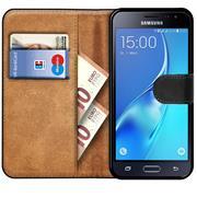 Basic Bookcase Hülle für Samsung Galaxy J7 2016 Case klappbare Schutzhülle