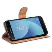 Basic Bookcase Hülle für Samsung Galaxy J7 2017 klappbare Schutzhülle