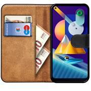 Basic Handyhülle für Samsung Galaxy M11 Hülle Book Case klappbare Schutzhülle