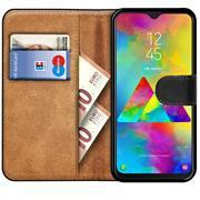 Basic Bookcase Hülle für Samsung Galaxy M20 klappbare Schutzhülle